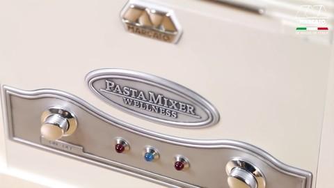 Тестомес Pasta Mixer  для бытового использования: панель управления, фото