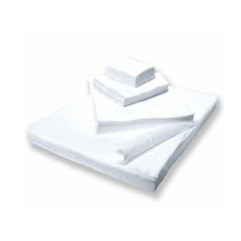 Салфетки спанлейс белые, 20х20 см, 100 шт./уп