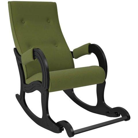 Кресло-качалка Комфорт Модель 707 венге/Montana 501, 013.707