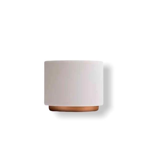 Monty чашки капучино - 1 шт, белый цвет