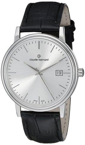 Купить мужские наручные часы Claude Bernard 53007 3 AIN по доступной цене