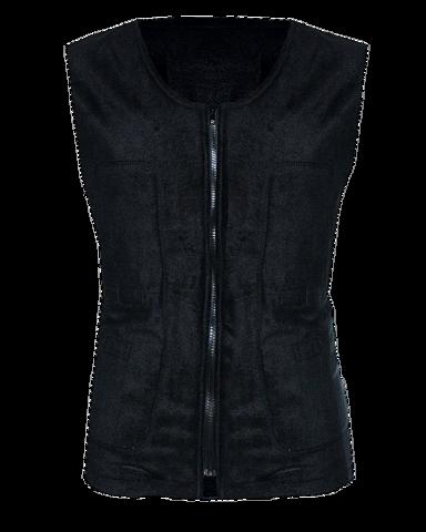 Жилет флисовый с подогревом RedLaika RL-03 (чёрный) унисекс