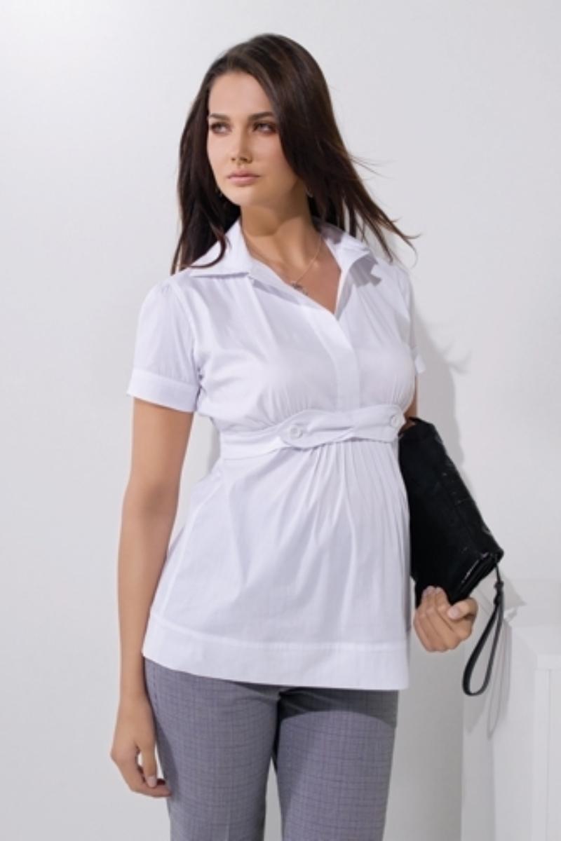 Блузка 01431 белый