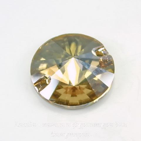 3200 Пришивные стразы Сваровски Crystal Golden Shadow (12 мм) (3200-1)