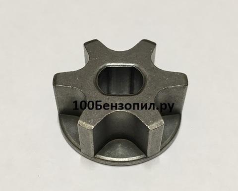 Звездочка на 6 зацепов для электропилы D-30, d=8/10, Н-10 mm