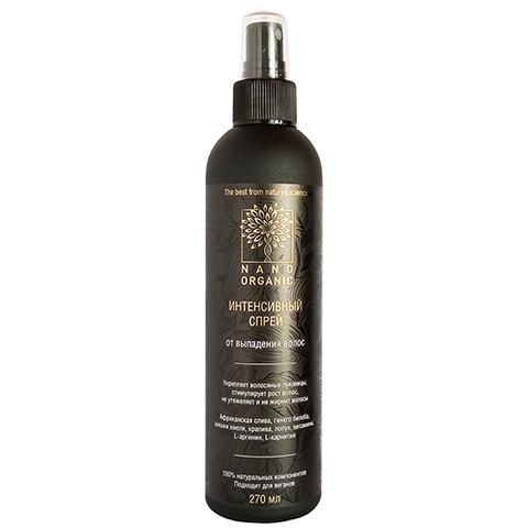 Спрей для волос против выпадения | 270 мл | Nano Organic