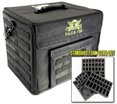 Сумка Battle Foam на 720 миниатюр со стандартными треями (черная)