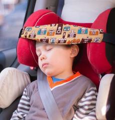 Повязка на голову ребенка коричневая Клювонос Фотоаппарат