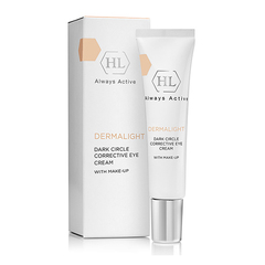 Holy Land Dermalight Dark Circle Corrective Eye Cream Make-Up - Корректирующий крем для век с тоном
