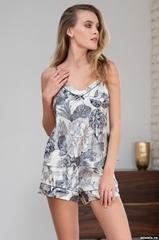 Пижама женская шелковая  Mia-Amore LETUAL Летуаль 3432