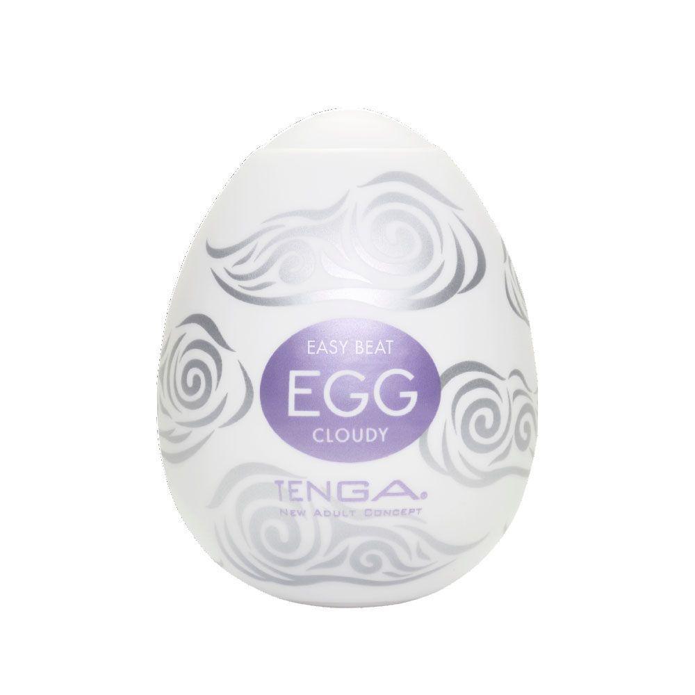 Мастурбаторы: Мастурбатор-яйцо CLOUDY