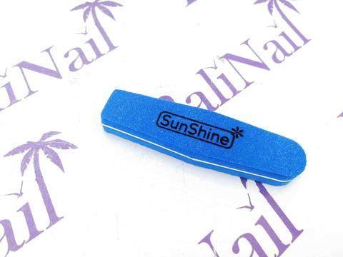 Пилка-баф малая SunShine 100/180 синий, ромб