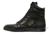 Кеды Мужские Philipp Plein Hi-Top Metal Logo (с Мехом)