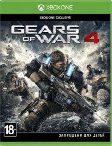 Microsoft Xbox One Gears of War 4 (русские субтитры)