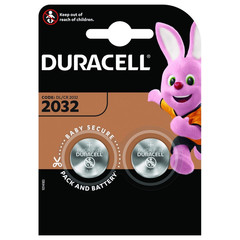 Батарейка DURACELL CR2032 3V Lithium для электронных устройств бл/2