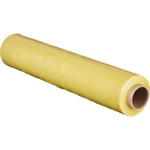 Стрейч-пленка для ручн.упак 180% 20 мкм 50 смx217м желтая 2кг нетто