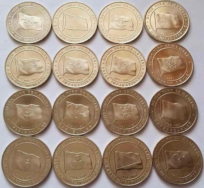 Набор монет