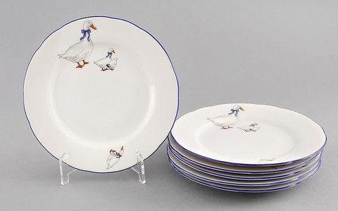 Набор тарелок десертных 19 см 6 штук Мэри-Энн Leander