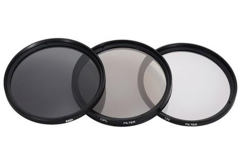 Набор фильтров Polaroid UV-CPL-ND8 82mm