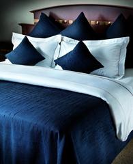 Постельное белье 2 спальное евро макси Hamam Marine синее