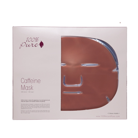 Набор восстанавливающих кофейных масок (5шт) 100% Pure