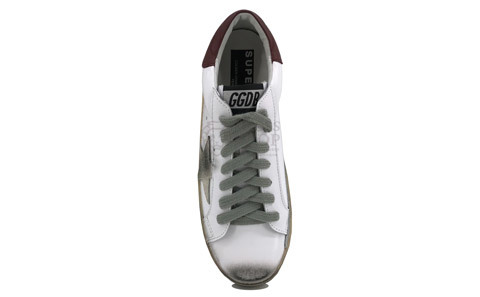 Golden Goose Deluxe Brand Women's White/Brown/Beige