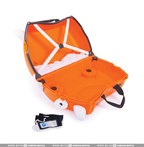 Детский чемодан на колесиках Trunki Tipu the Tiger напрокат