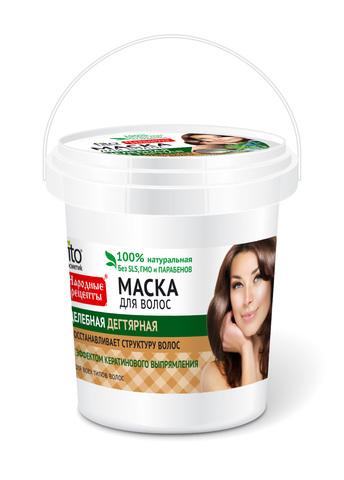Фитокосметик Народные рецепты Маска для волос Целебная дегтярная 155мл