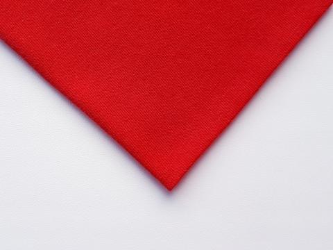Кулирная ткань (100%- х/б) 15х15см, красный