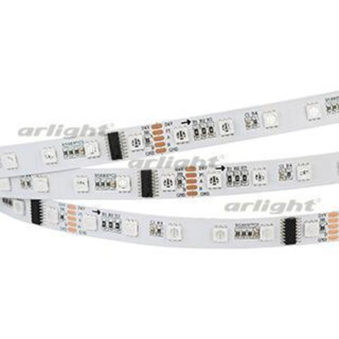 Лента DMX-5000-5060-60 24V Cx6 RGB (12mm, 12.5W, IP20)