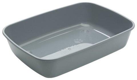 Savic туалет-лоток для кошек Iriz M 42х30.5х10 см серый