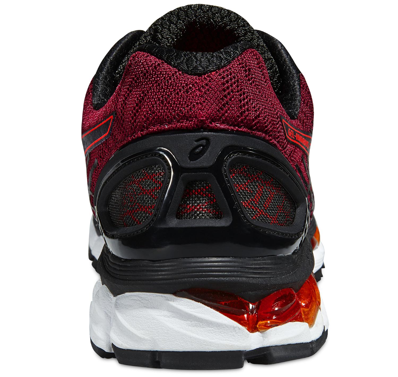 Мужские кроссовки для бега Asics Gel-Nimbus 17 (T507N 9030) красные фото