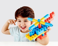 КОНСТРУКТОР MITU HAPE 80 FLEXIBLE BUILDING BLOCKS