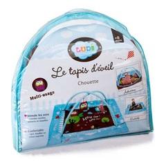 Развивающий коврик с поднимающимися бортиками Ludi Сова 2873