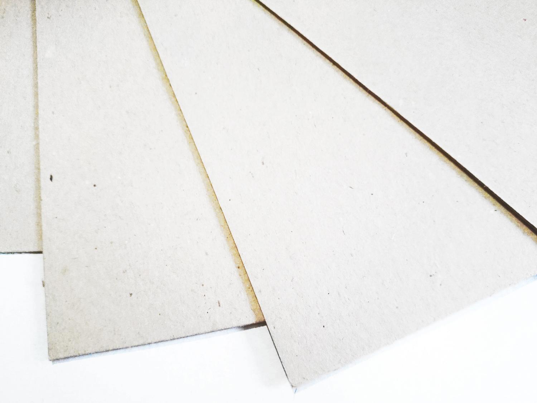 Картон пивной неокрашенный 1,2мм, А3 (30*42 см), 1 лист