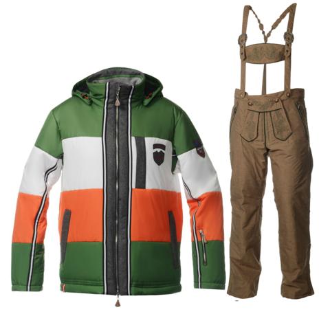 ALMRAUSCH мужской горнолыжный костюм