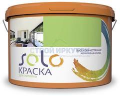 Краска SOLO для потолка акриловая, 1 кг