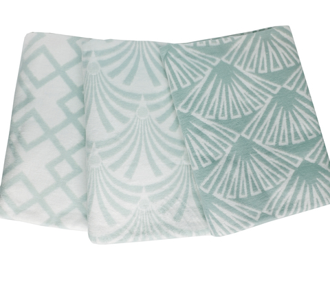 Одеяло байковое Микс льдистый
