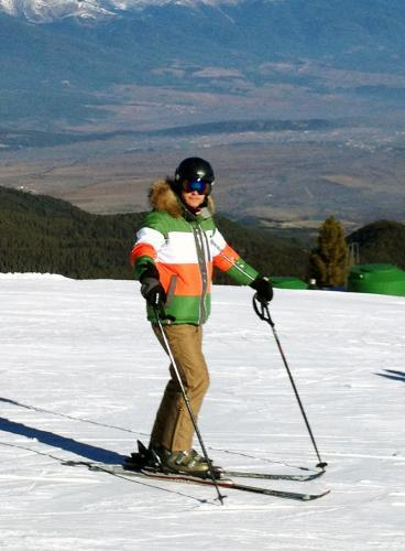 Мужской горнолыжный костюм Almrausch Steinpass-Lois 320109-121136 зеленый фото