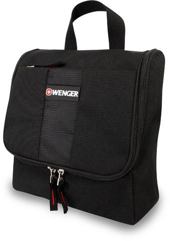 Несессер WENGER, черный, полиэстер, 22х8х24 см