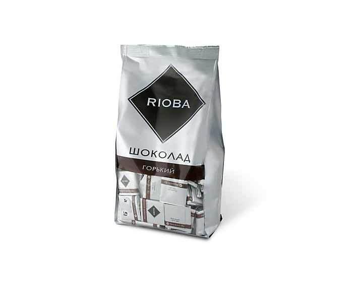 Горький шоколад 72% Rioba, 800 г (Риоба)
