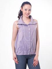 B4101-158 блузка женская, светло-сиреневая