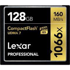 Карта памяти Lexar Compact Flash 128GB 1066X UDMA7 160Mb/s CF VPG-65