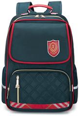 Рюкзак школьный Qix 875 Темно-зеленый + Пенал