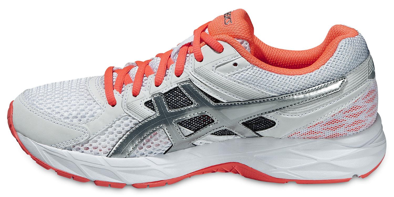 Женские кроссовки для фитнеса Asics Gel-Contend 3 (T5F9N 0106) белые фото