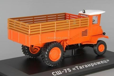 Tractor SSh-75 Taganrozhets orange 1:43 Hachette #80