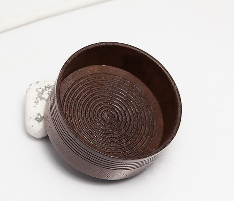 RAZ312 Деревянная чаша для бритья