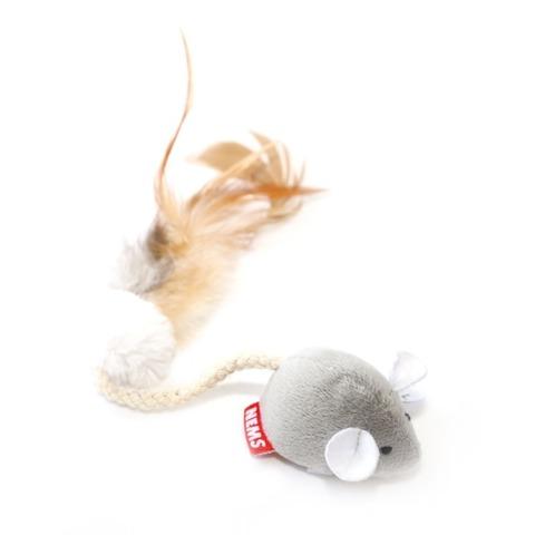 NEMS игрушка для кошек мышь с чипом-длинный хвост