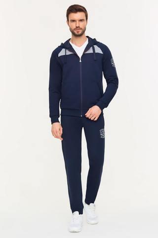 Мужской спортивный костюм 11M-00-871 синий