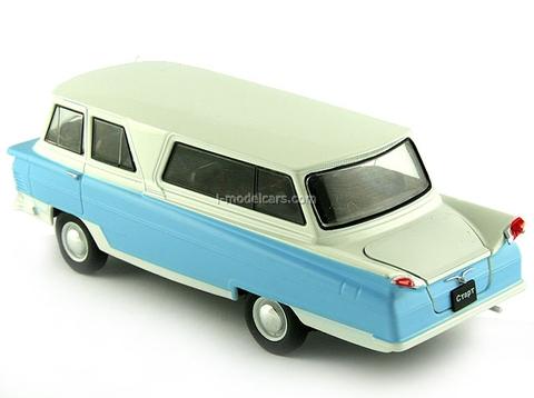 Start white with blue 1:43 DeAgostini Auto Legends USSR #65